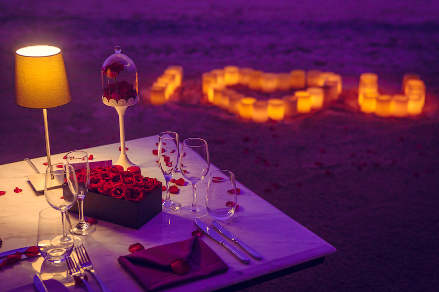 Melia Romantic Dinners Valentines Day in Bali