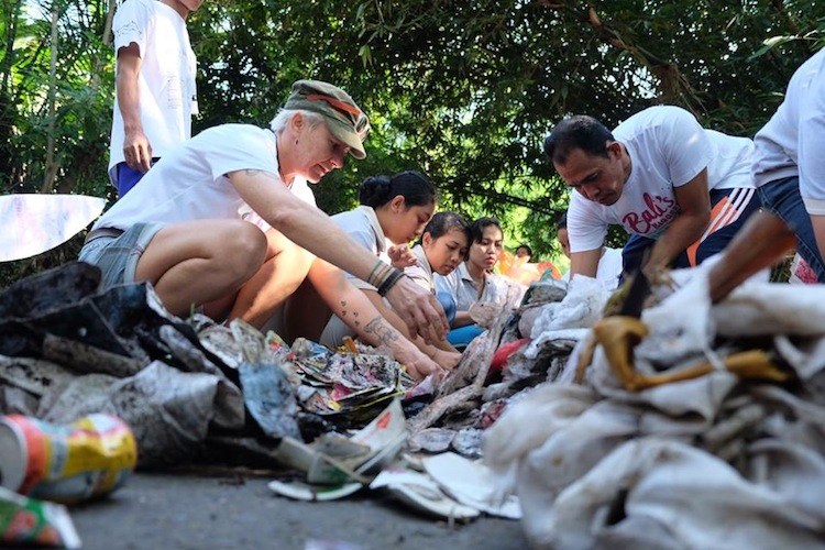 Bali's Biggest Beach Clean Up