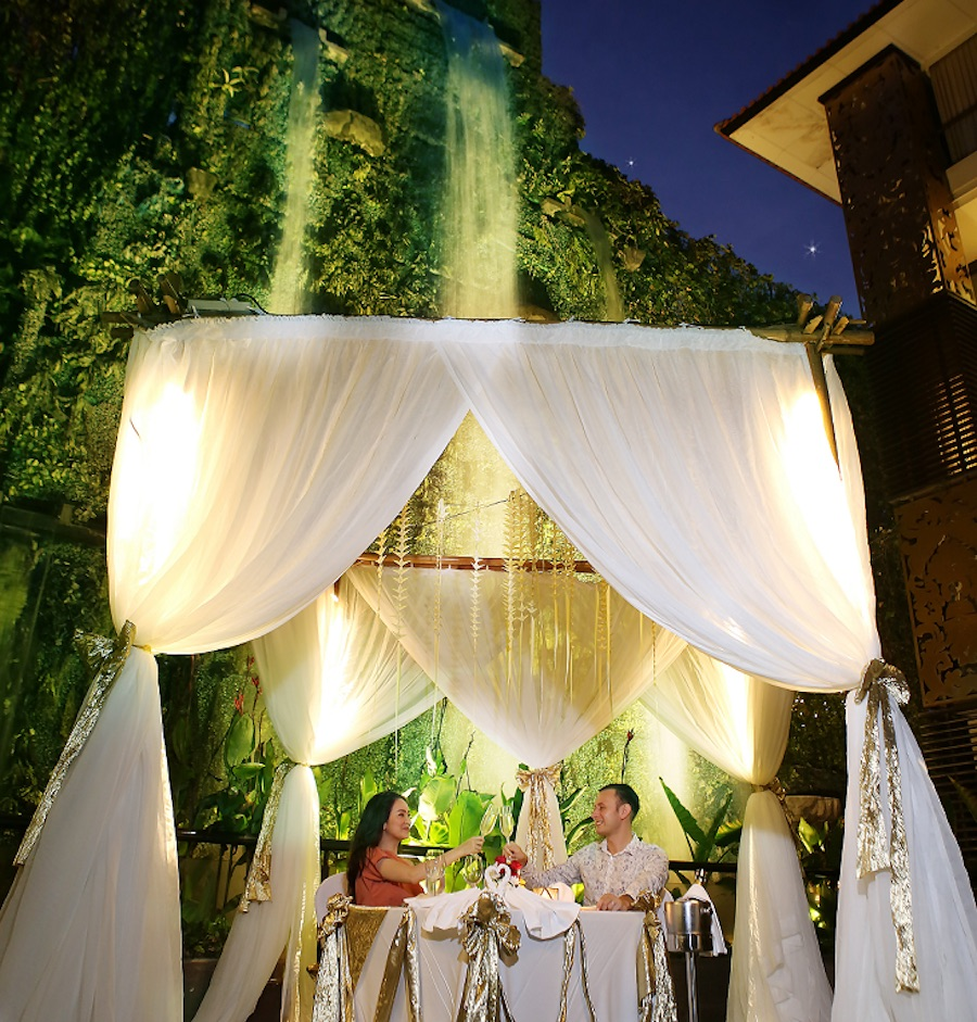 Trans Resort Romantic Dinners Valentines Day in Bali