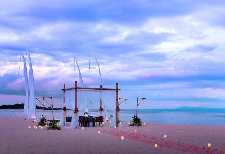 Valentines Dinner Ayodya Resort Bali Where To Propose in Bali