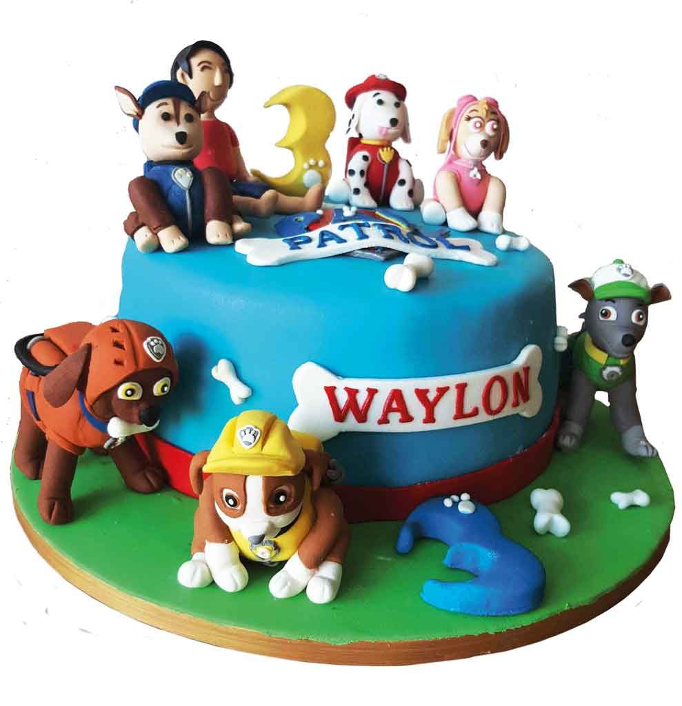 Theme---WTD---Kids-Party-Planning---cakes---Beecup---Doggy