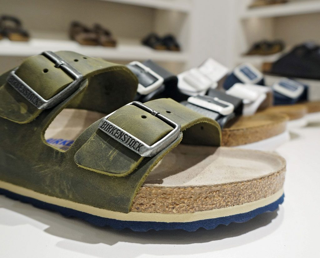 289123082201 It all started with shoemaker Johann Adam Birkenstock s commitment to his  craft. The year was 1774. This commitment to craftsmanship was passed down  from ...