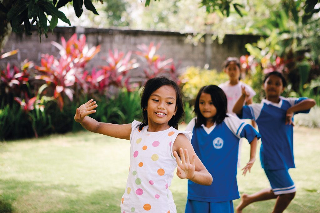 Charity Profile - Bali Life Foundation - Children's Home Activity