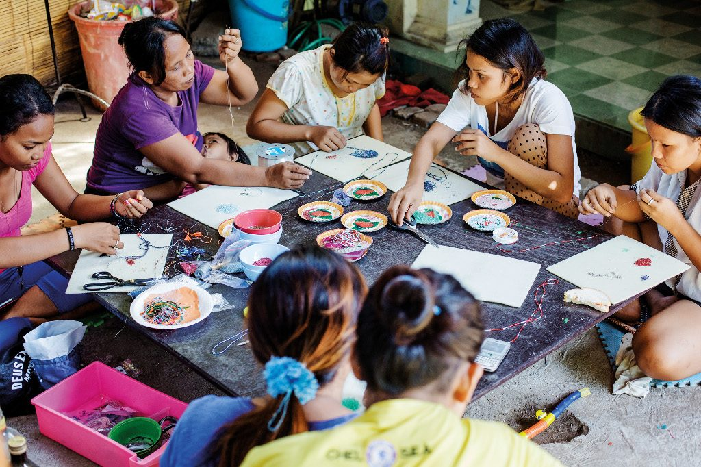 Charity Profile - Bali Life Foundation - Women Workshop