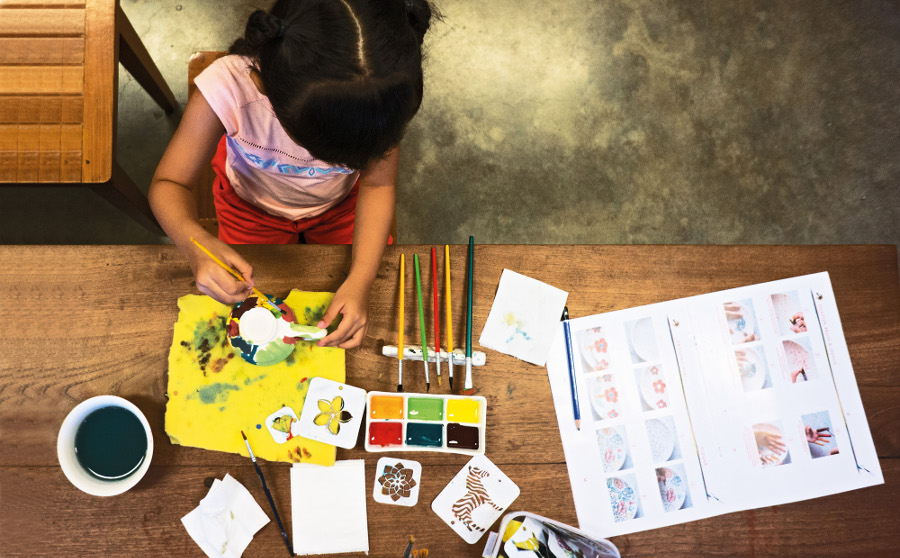 Colour Fun Painting Pots For Tots With Jenggala