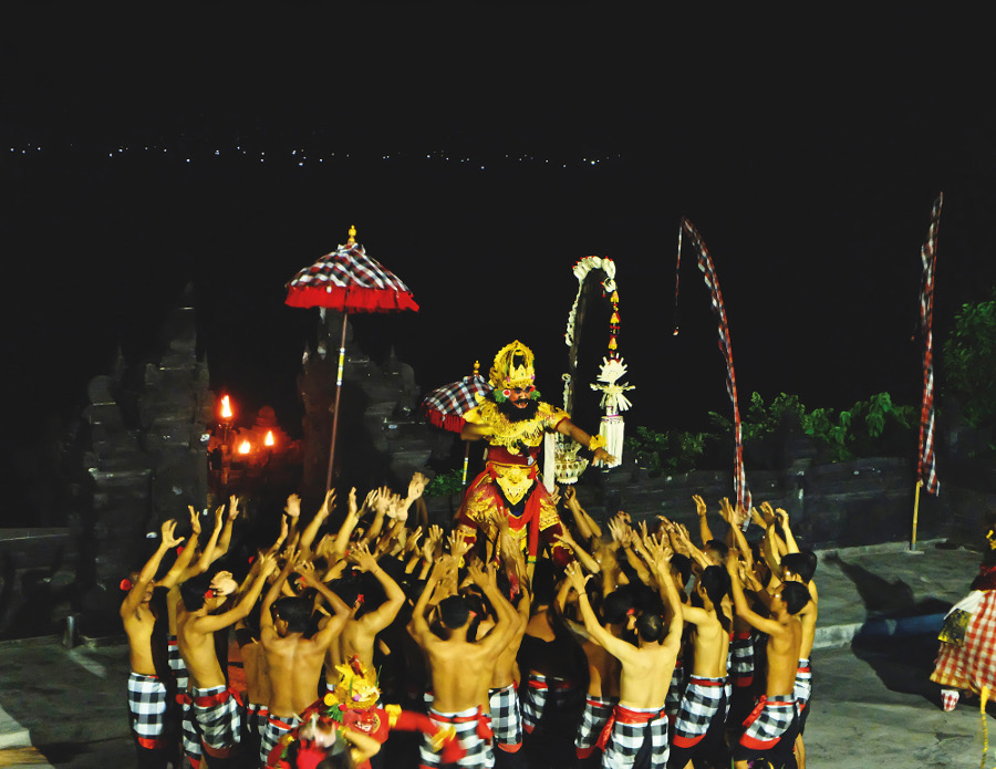 Kecak Fire Dance Balinese Performance
