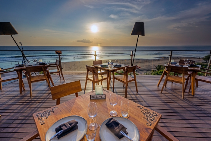 Moonlite Kitchen and Bar Valentines Day in Bali