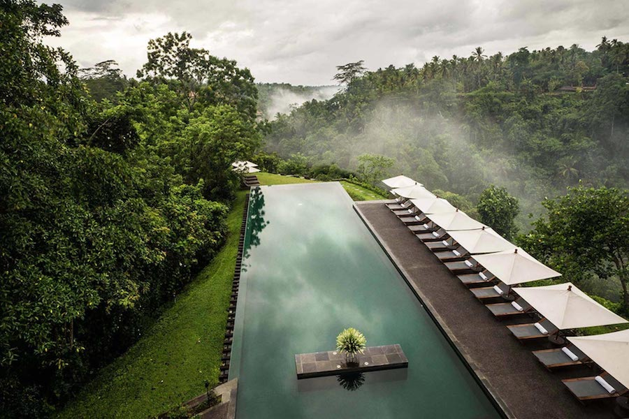 Alila Ubud Swimming Pool Views