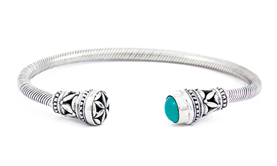 SHopping - Sea Gypsy - Timeless Island Malachite CUFF 1