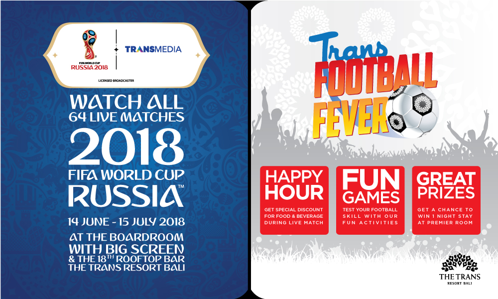 Where to Watch the World CUp in Bali Trans Resort Bali 4