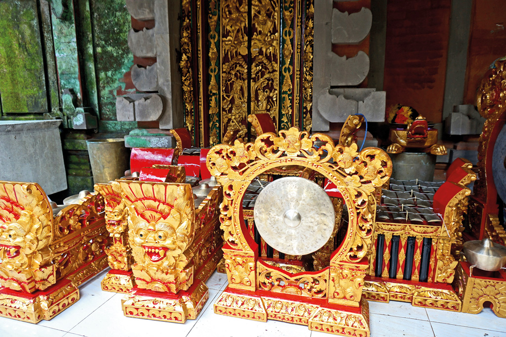 Balinese Gamelan Musical Instrument