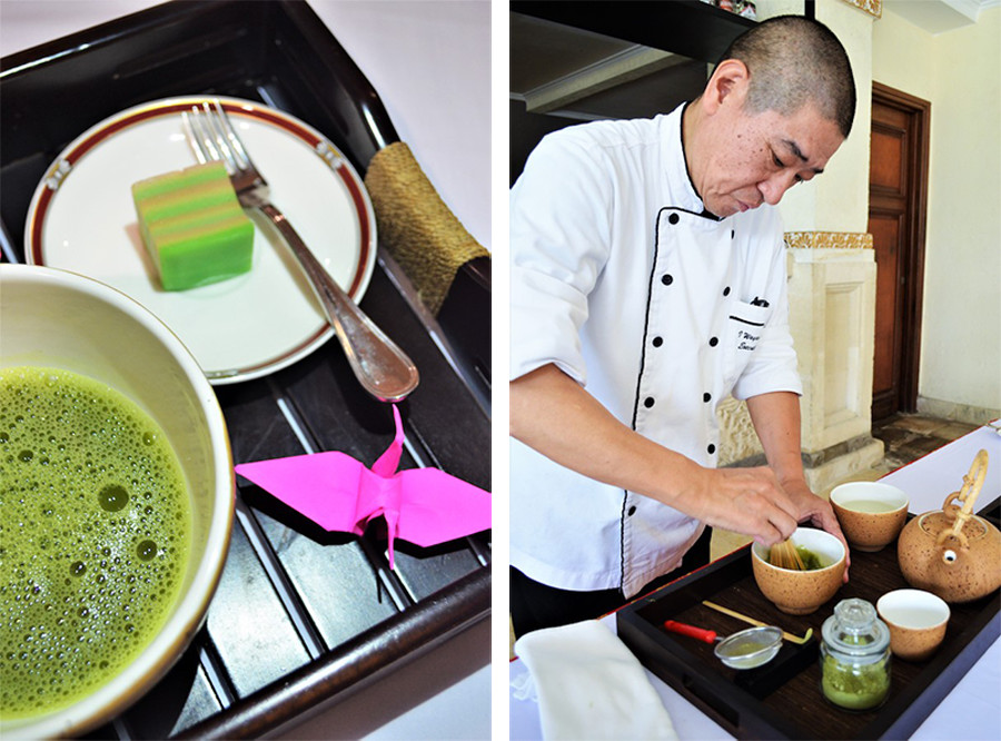 Hotel Nikko Bali Benoa Beach Tea Ceremony