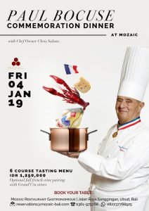 2 Paul Bocuse Dinner Mozaic Restaurant 2