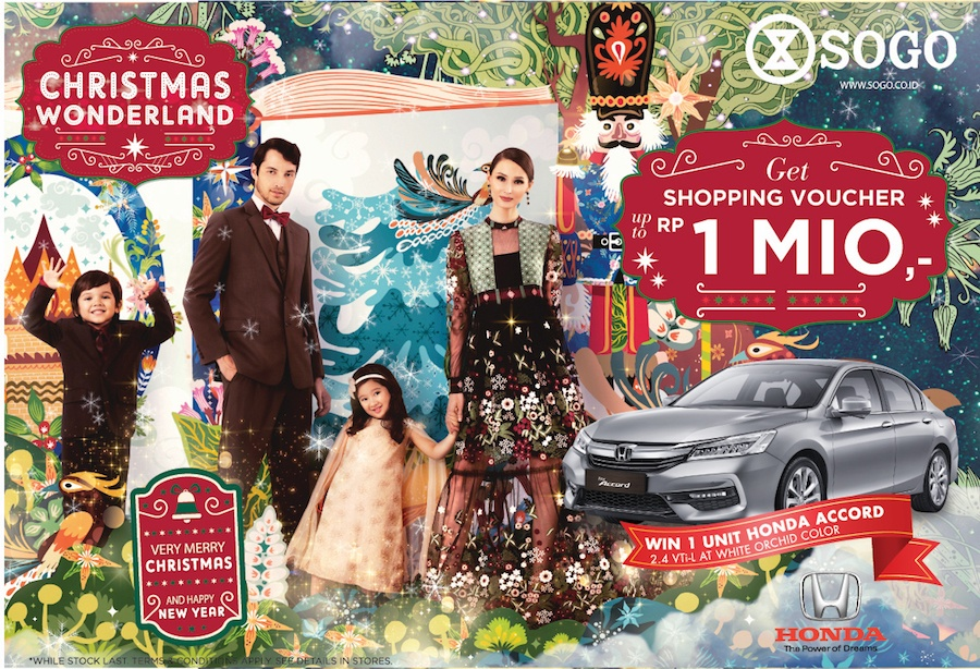 Shop More and Spend Less This Christmas at SOGO Bali