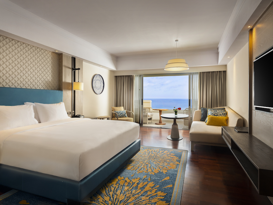Hilton Bali Resort Executive Room Ocean View_King