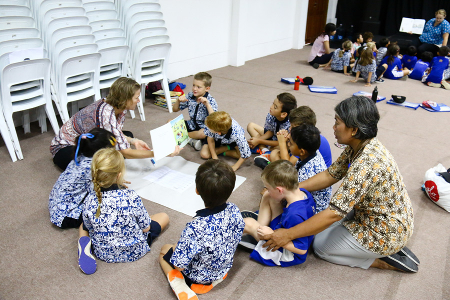 Bali Island School Preschool Teachers Hosts Workshop for Parents