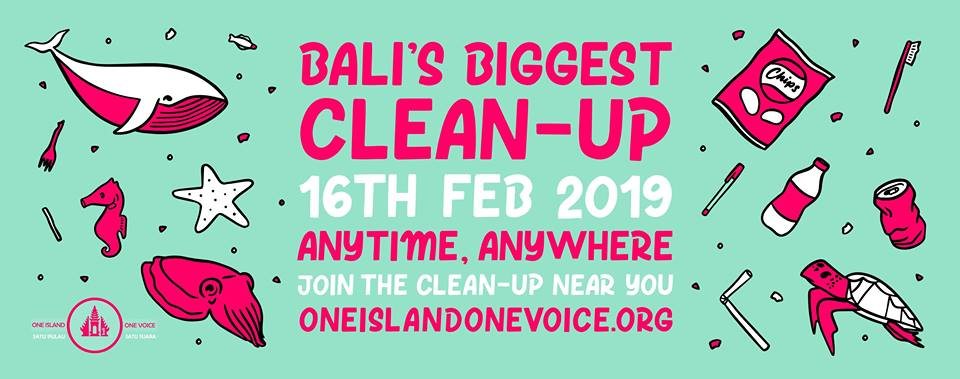 Bali's Biggest Clean Up 2019