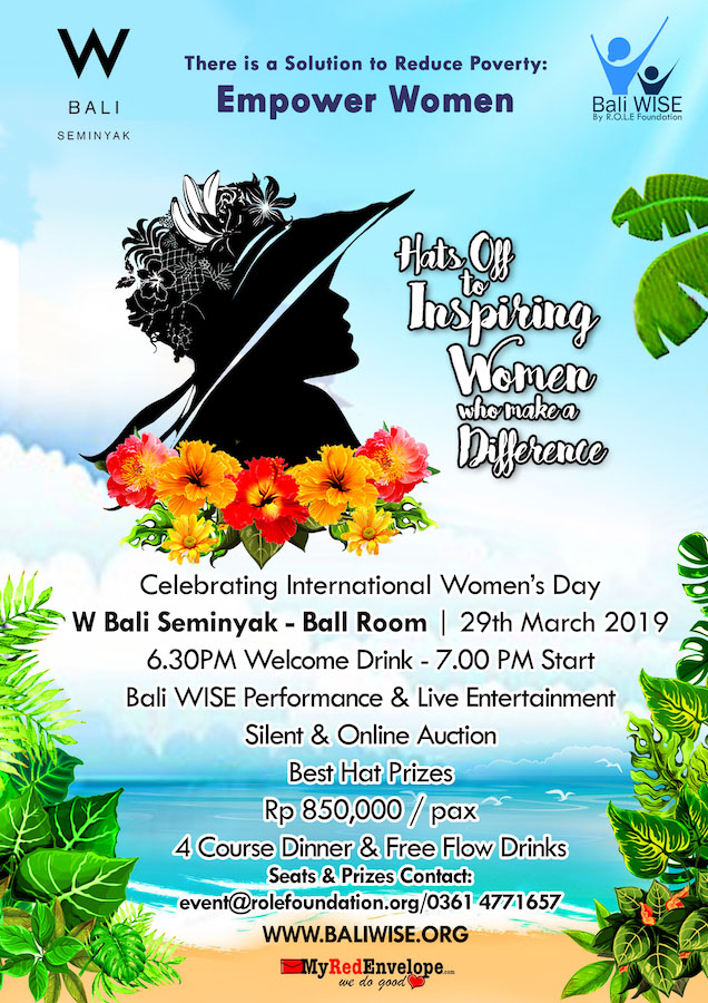 Bali WISE Hats Off to Women Empowerment 2