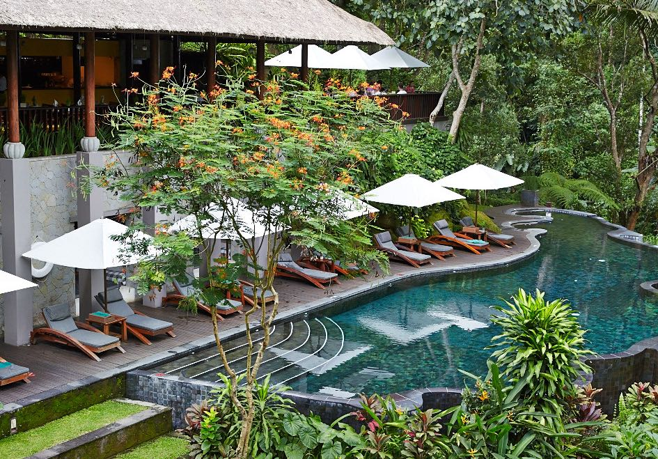 River Cafe Ubud Vegetarian Restaurant in Bali