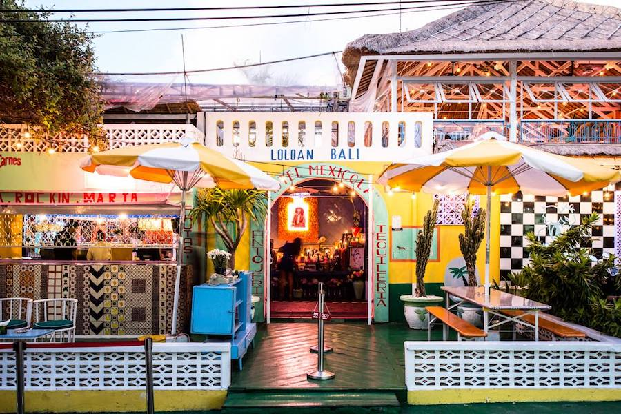 Where to party in Bali Motel Mexicola