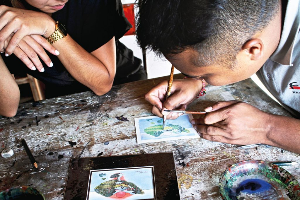 Bali Art Classes - Five Art Studio