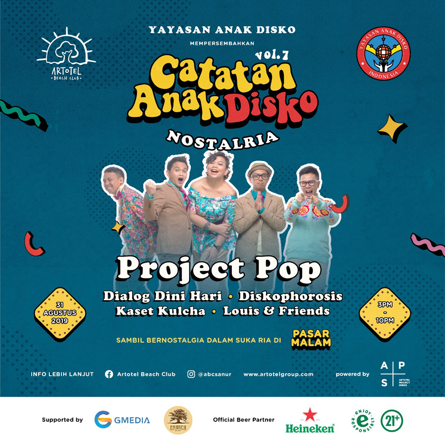ARTOTEL Group Bali Presents Catatan Anak Disko Featuring