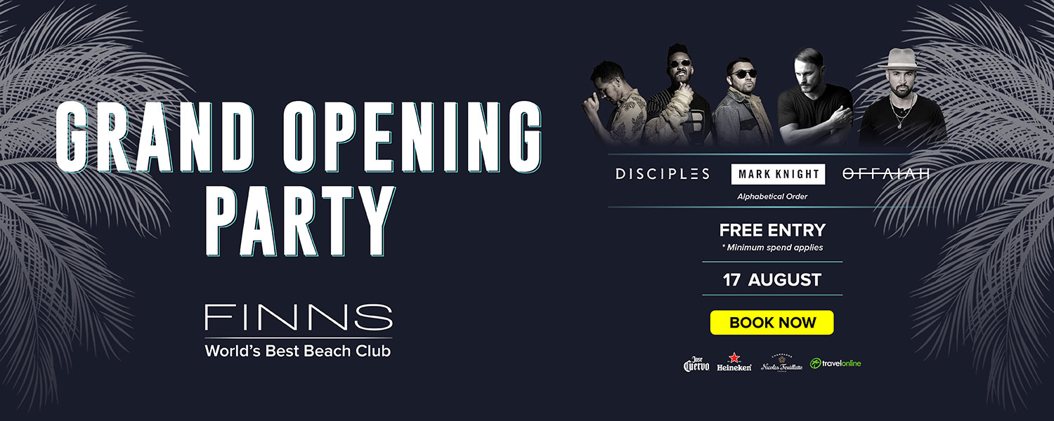 Finns Beach Club Grand Opening Party 2019 3