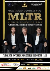 Michael Learns to Rock Live in Bali 2019