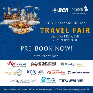 Singapore Airlines - BCA Travel Fair