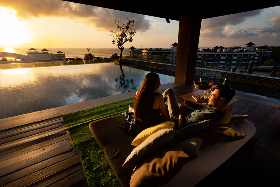 Valentines Day Romantic Dinner in Bali - The Stones