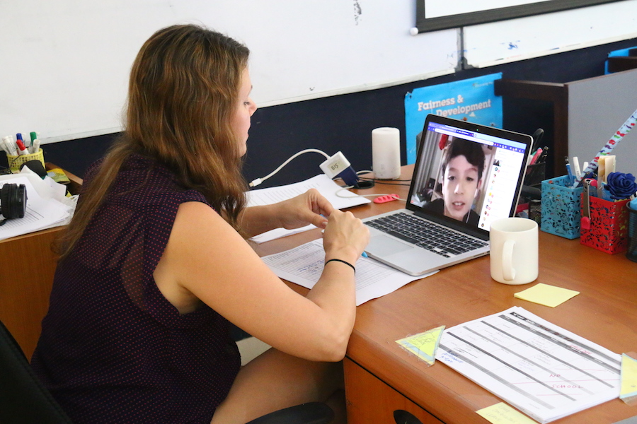 How a School in Bali Has Adapted to Online Teaching Due to COVID-19