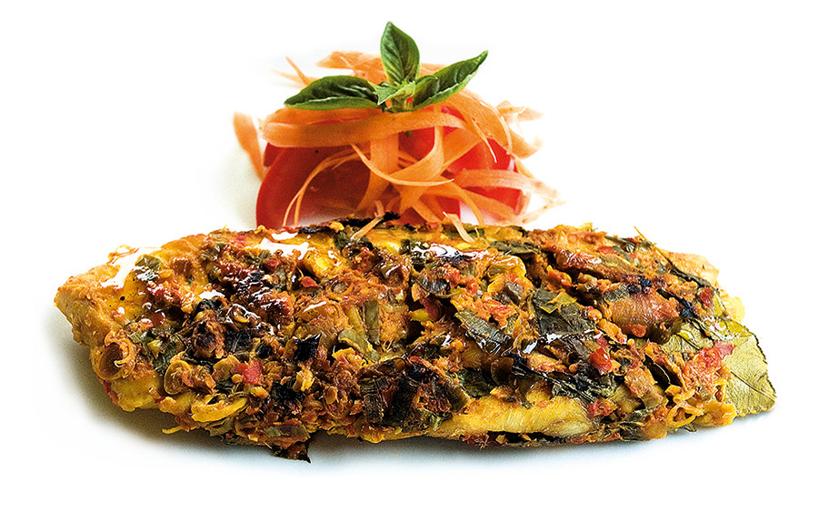 Pepes Ikan: Grilled Spiced Red Snapper in Banana Leaf