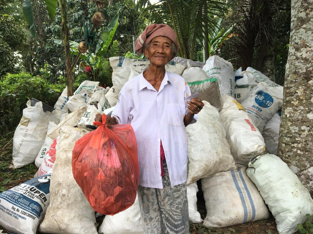 'Plastic For Rice' : Providing Sustenance by Keeping Bali Clean