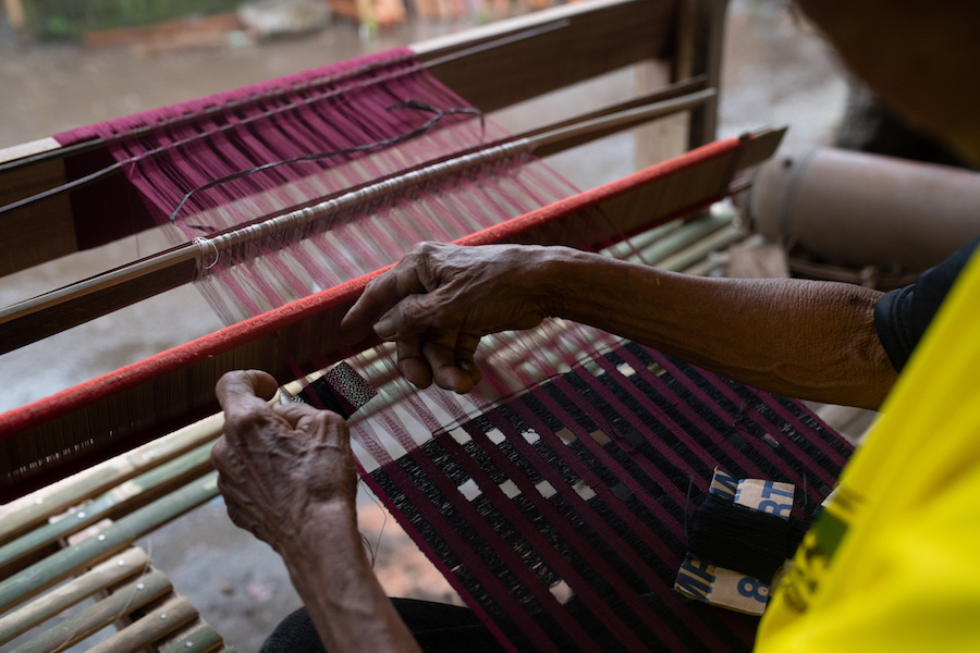 Pejeng Kangin Ikat Weaving - by David Metcalf 3