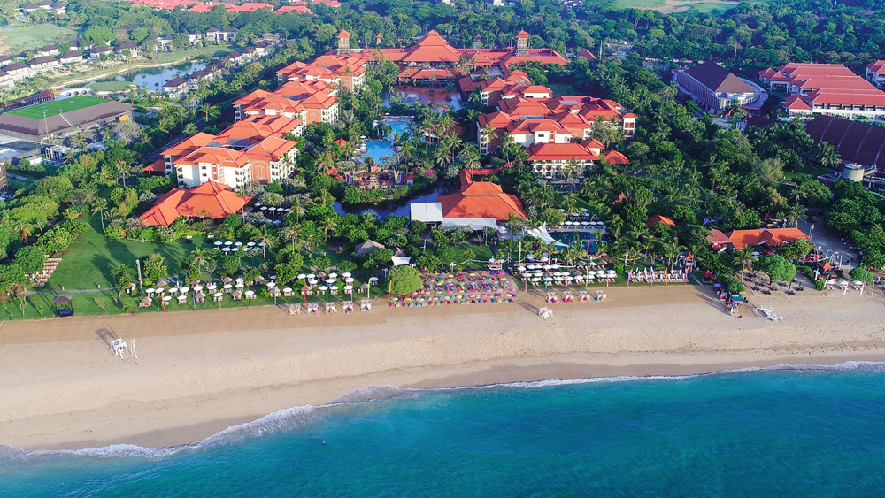 Ayodya Resort Bali - Beachfront, Pool and Building l