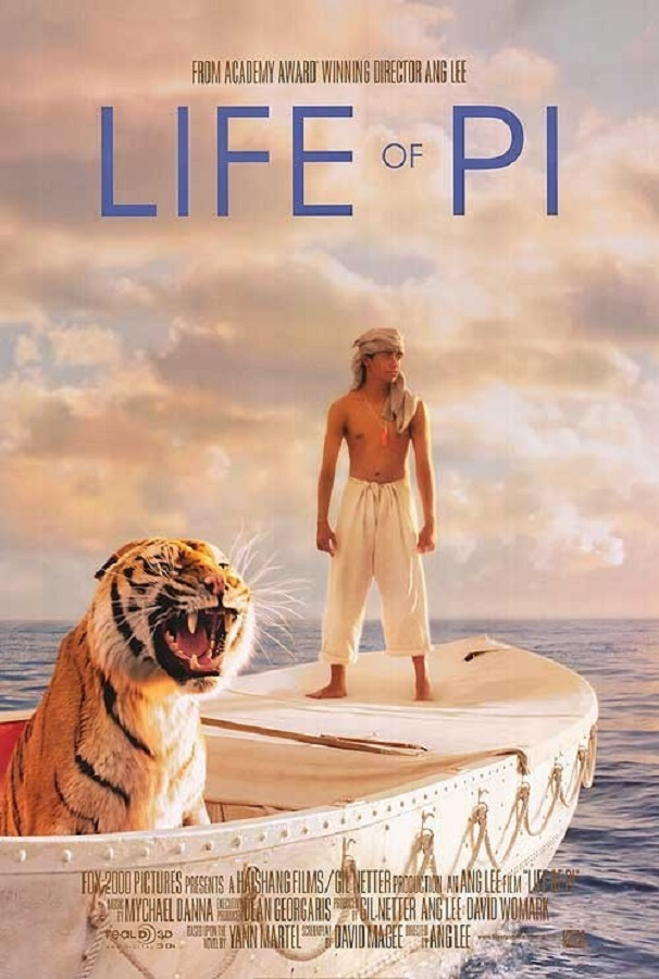 Best Film Adaptations - Life of Pi