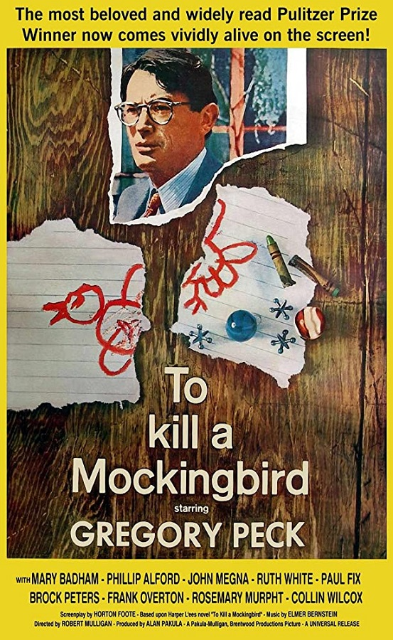 Best Film Adaptations - To Kill a Mockingbird
