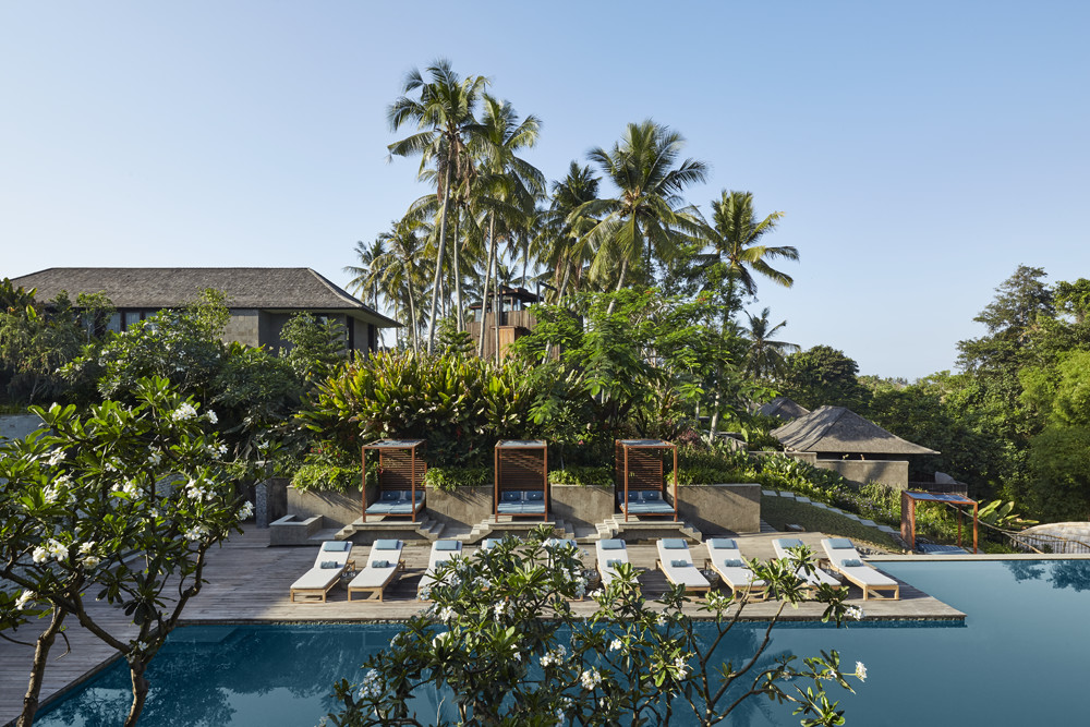 Nirjhara Resort Bali Swimming Pool