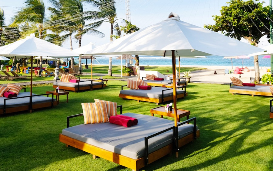 Bask Under the Sun at Ayodya Beach Club for Only IDR 150K