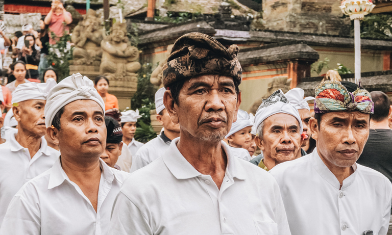 Udeng : The Traditional Headress of Balinese Men